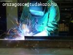 Acélszerkezetek gyártása. egyedi acélszerkezetek